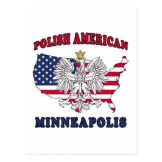 Polaco de Minneapolis Minnesota Postales