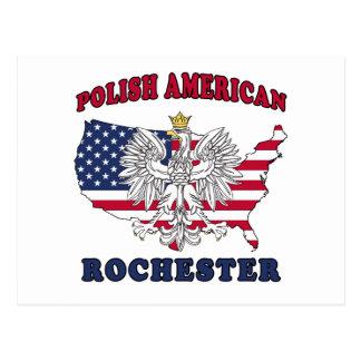 Polaco de Rochester Nueva York Postal