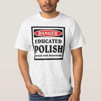 Polaco educado playera