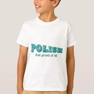 Polaco y orgulloso de él playera
