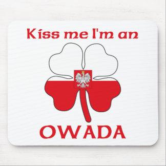 Polacos personalizada me besan que soy Owada Alfombrilla De Ratón