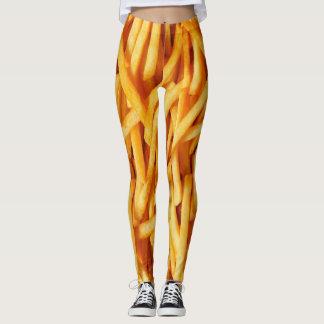Polainas de las patatas fritas leggings
