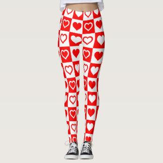 Polainas del modelo del corazón leggings