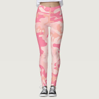 Polainas rosadas de Camo Leggings