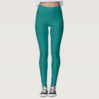 Polainas verdes de la moda de la aptitud de Resene Leggings