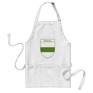 Polanco Coat of Arms/Family Crest Adult Apron