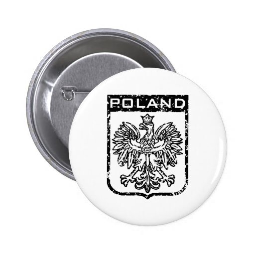 Poland 2 Inch Round Button