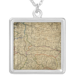 Poland 4 silver plated necklace