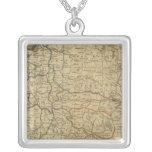 Poland 4 square pendant necklace