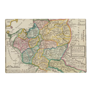 Poland 6 2 laminated placemat