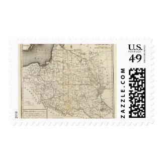 Poland 9 postage stamp