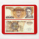 Poland Banknote 20,000 zloty Mouse Pad
