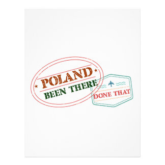 Poland Been There Done That Letterhead