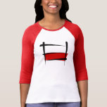 Poland Brush Flag T-Shirt