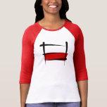 Poland Brush Flag Tee Shirt