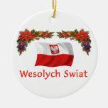 Poland Christmas Christmas Tree Ornament