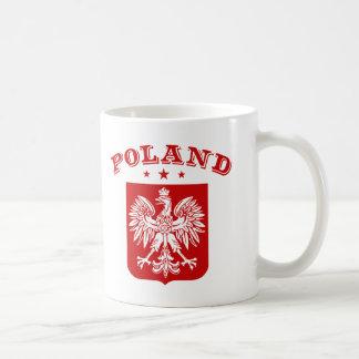 Poland Classic White Coffee Mug