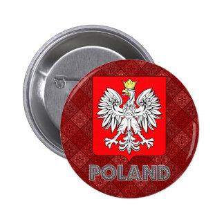 Poland Coat of Arms Pinback Button
