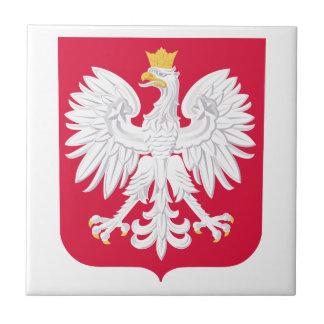 Poland Coat Of Arms Ceramic Tile