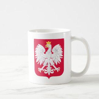 Poland Coat of Arms Classic White Coffee Mug