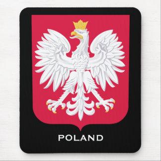 Poland Coat of Arms Computer Mousepad