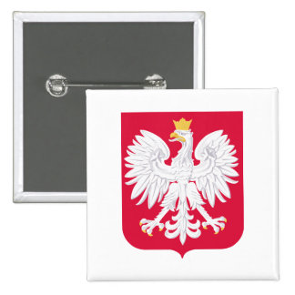 Poland Coat of Arms Pinback Button