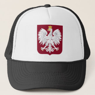 Poland Coat of Arms Trucker Hat