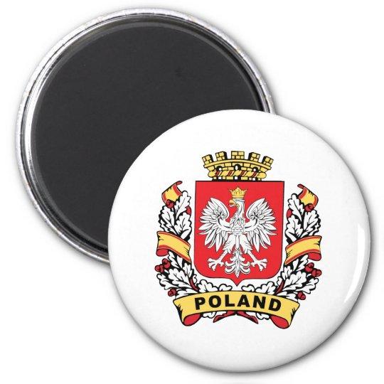 Poland Crest Magnet