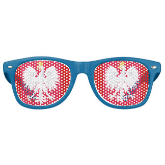 Poland* Eagle Party Shades Glasses
