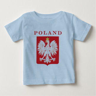 Poland Eagle Red Shield Baby T-Shirt