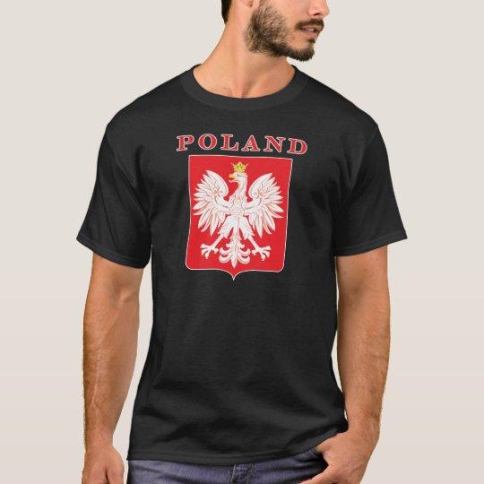 Poland Eagle Red Shield T-Shirt