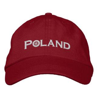 Poland Embroidered Baseball Hat