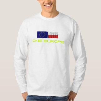 poland_flag-1680x1050, eu_flag-1680x1050, UNA E… Playera
