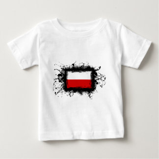 Poland Flag Baby T-Shirt