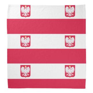 Poland flag bandana