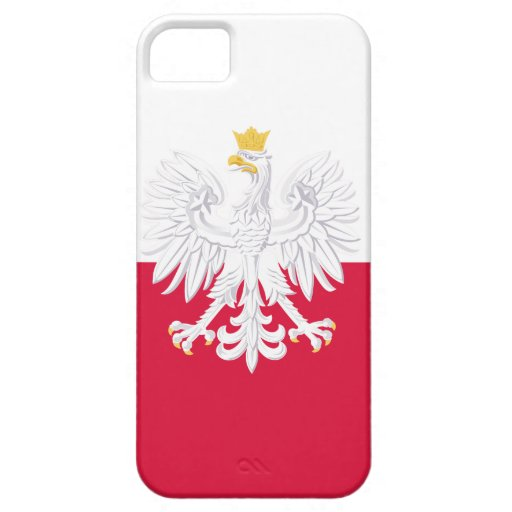 Poland Flag iPhone 5 Cover