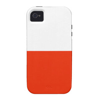 Poland Flag Case For The iPhone 4