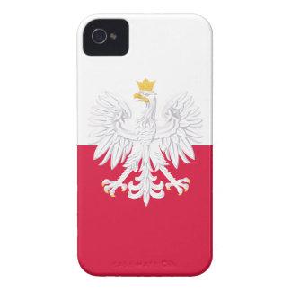 Poland Flag Case-Mate iPhone 4 Case