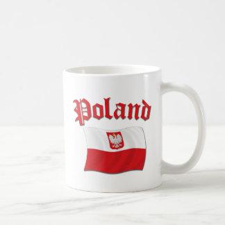 Poland Flag Coffee Mug