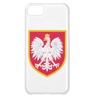 Poland Flag Cover For iPhone 5C
