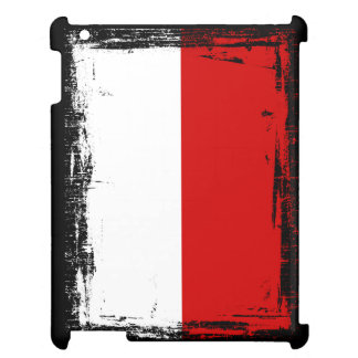 Poland Flag Cover For The iPad