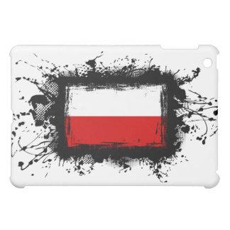 Poland Flag Cover For The iPad Mini
