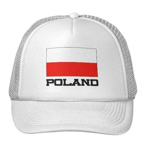 Poland Flag Hats