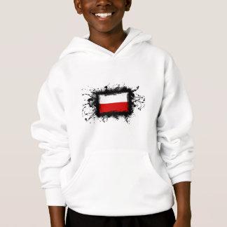 Poland Flag Hoodie