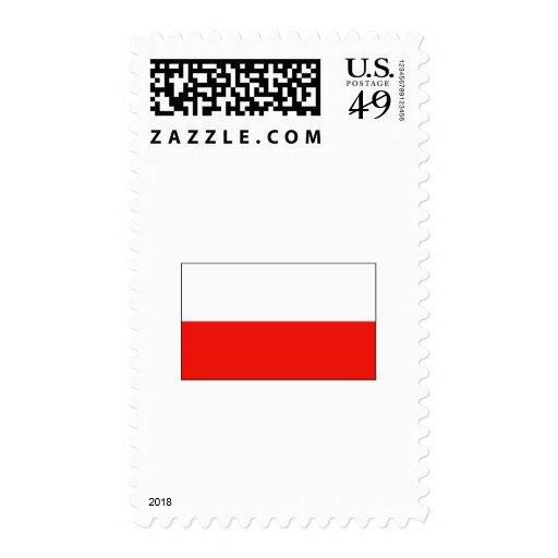Poland FLAG International Postage Stamps
