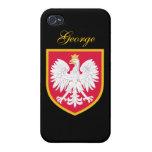Poland Flag iPhone 4/4S Case