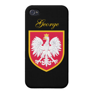 Poland Flag iPhone 4/4S Cover