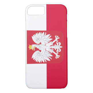Poland Flag iPhone 7 Case