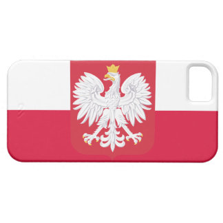 Poland Flag iPhone SE/5/5s Case