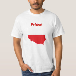 Poland Flag-map T-Shirt